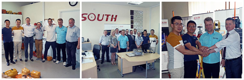 Wizyta SOUTH w Geomatix
