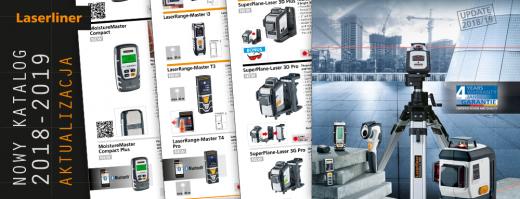 Nowy katalog Laserliner 2018-2019 Aktualizacja
