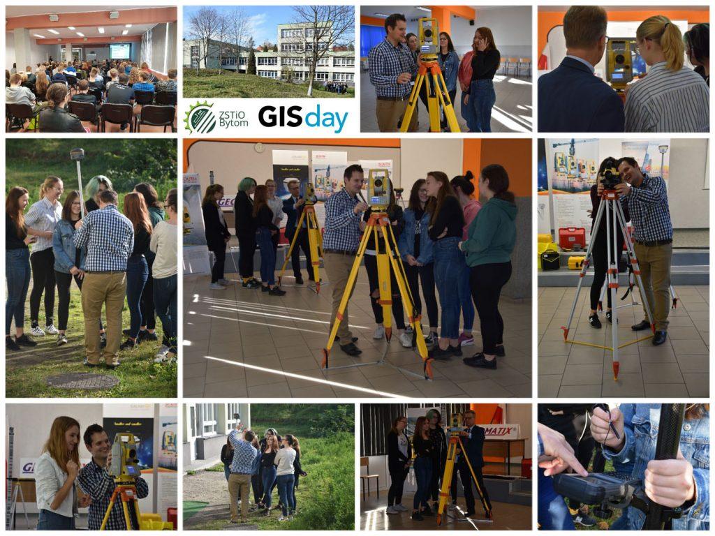 Geomatix na GIS day w ZSTiO Bytom 7.11.2018